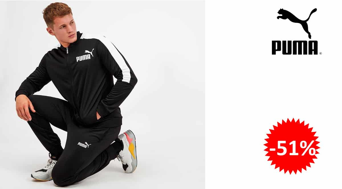 Chándal Puma Baseball Tricot barato, ropa deportiva de marca barata, ofertas en ropa, chollo