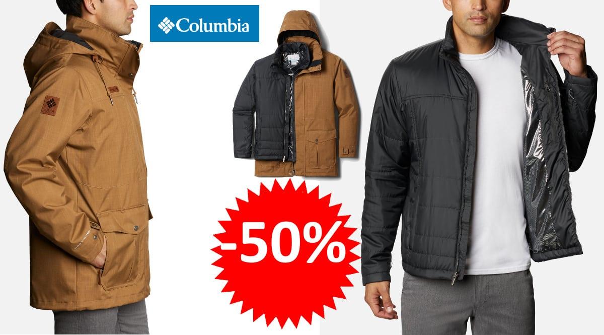 Chaqueta 3 en 1 Columbia Horizons Pine barata, chaquetas de marca baratas, ofertas en ropa, chollo