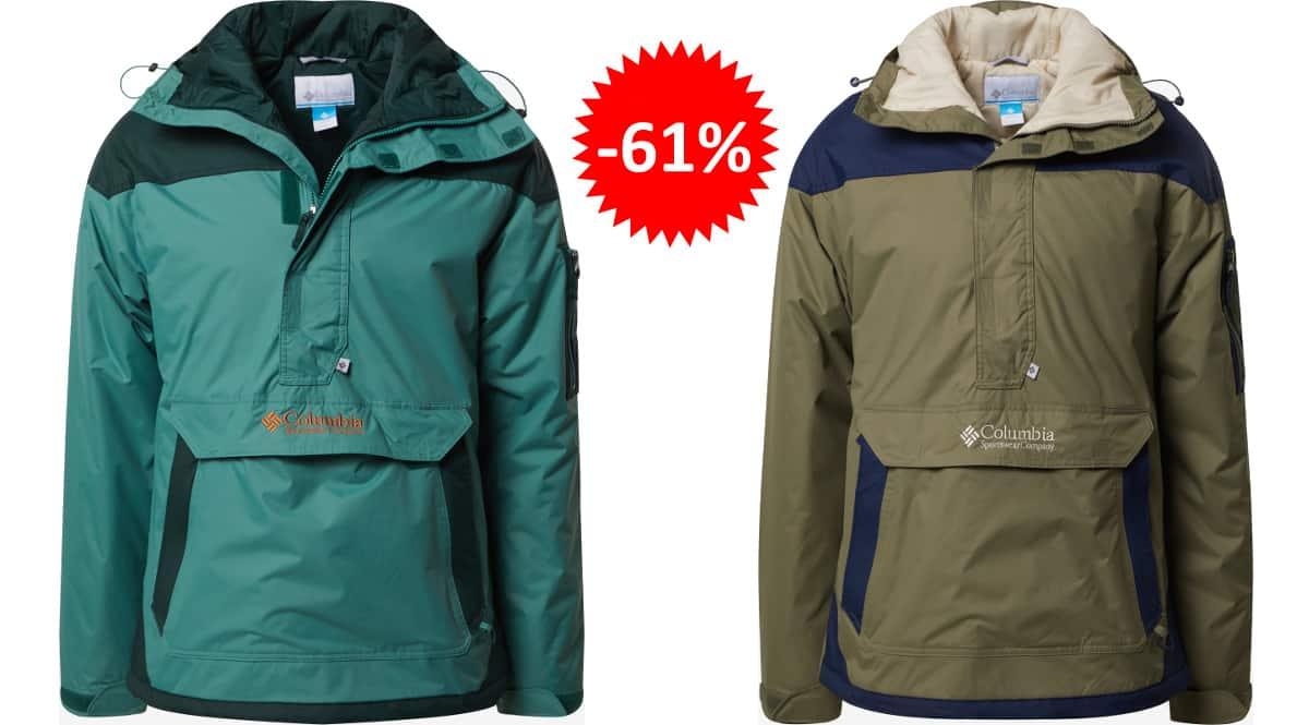 Chaqueta Columbia Challenger barata, ropa de marca barata, ofertas en chaquetas chollo