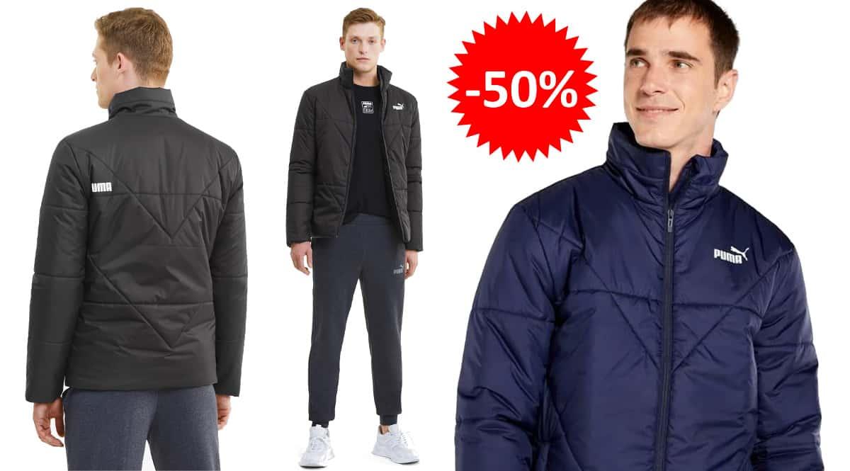 Chaqueta Puma Padded barata, ropa de marca barata, ofertas en chaquetas chollo