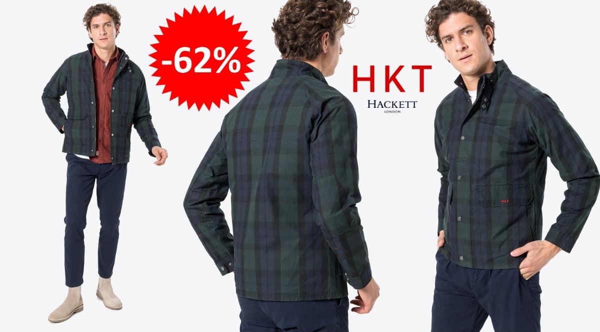 Chaqueta de entretiempo HKT by Hackett Waxed barata, ropa de marca barata, ofertas en chaquetas chollo