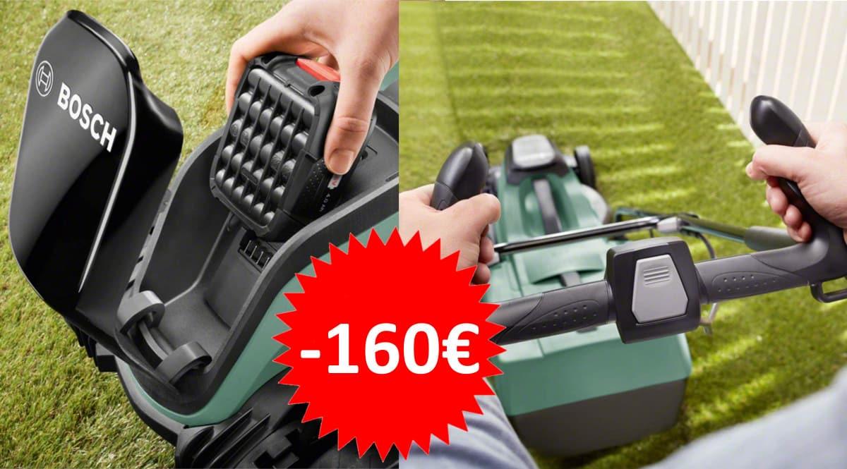 Cortacésped Bosch CityMower 18 barato. Ofertas en cortacéspedes, cortacéspedes baratos, chollo
