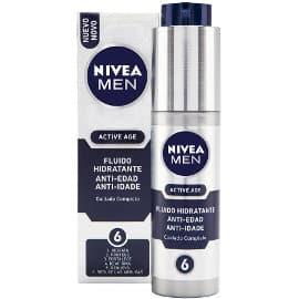 Crema hidratante anti edad Nivea Men Active Age barata, cremas para hombre de marca baratas, ofertas belleza