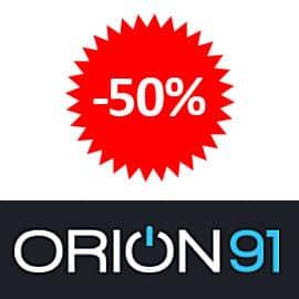 Cupón descuento para domótica de hogar Orion91, ofertas en domótica para casa, domótica barata