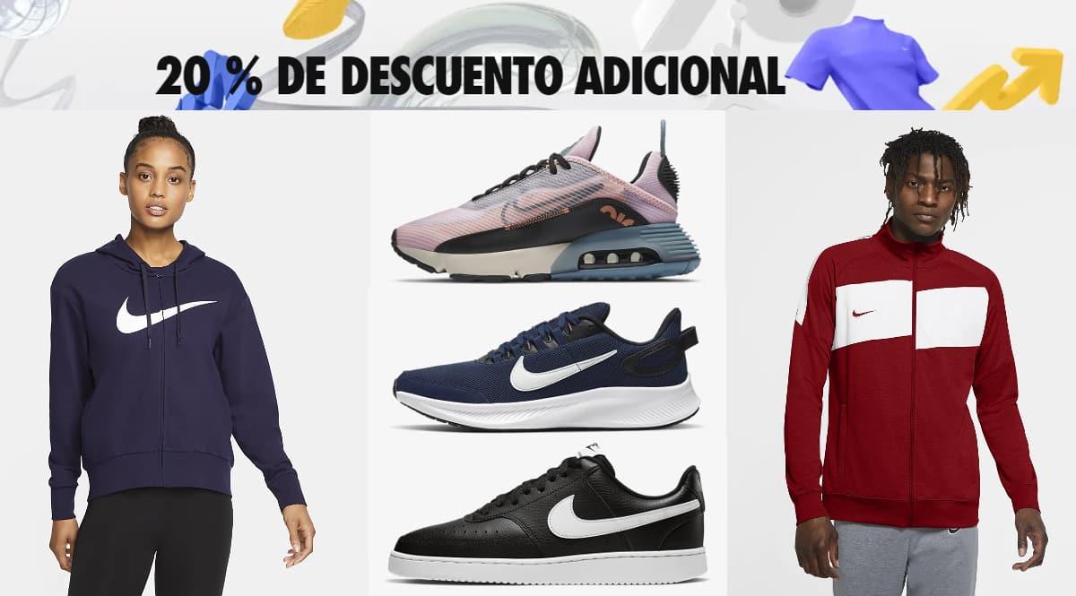Descuento adicional Nike Members, ropa de marca barata, ofertas en calzado chollo