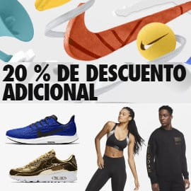 Descuento adicional Nike Members, ropa de marca barata, ofertas en calzado