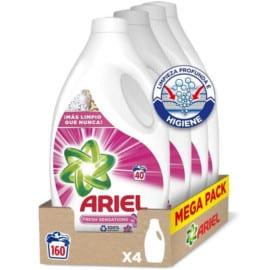 Detergente Ariel Sensaciones 160 lavados barato. Ofertas en supermercado