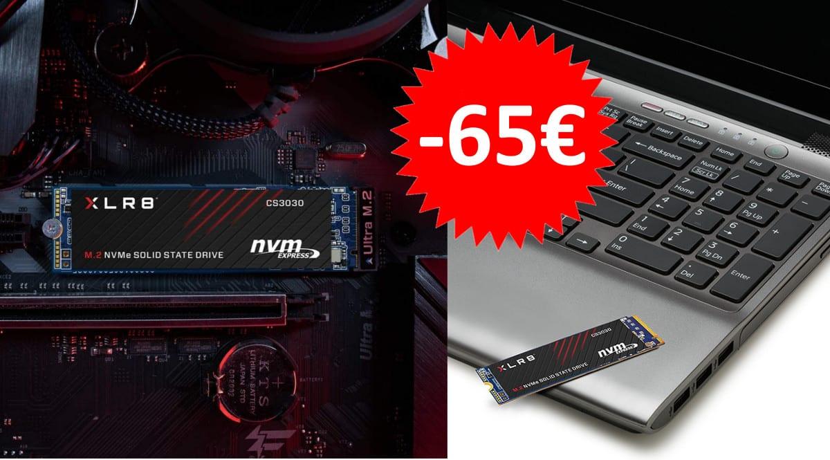 Disco SSD PCIe PNY XLR8 1TB barato. Ofertas en discos SSD, discos SSD baratos,chollo