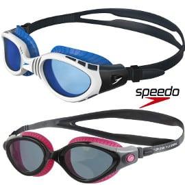 ¡¡Chollo!! Gafas de natación Speedo Futura Biofuse Flexiseal sólo 14.60 euros. En blanco y en rosa.