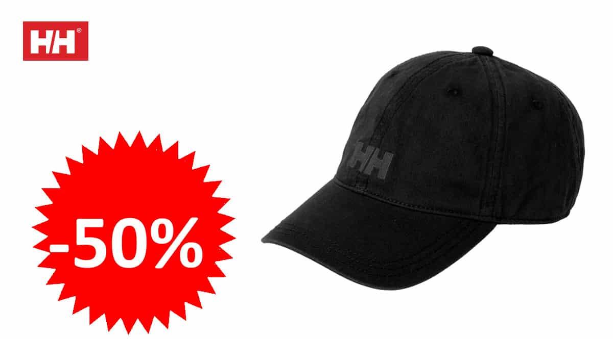 Gorra Helly Hansen Logo Cap barata, gorras de marca baratas, ofertas en ropa, chollo