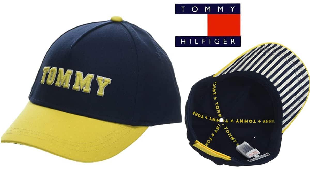 Gorra Tommy Hilfiger Varsity barata, gorras de marca baratas, ofertas para niños, chollo