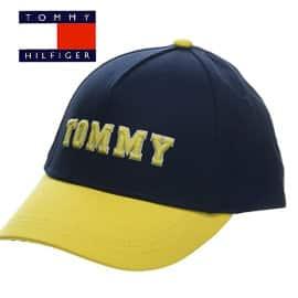 Gorra Tommy Hilfiger Varsity barata, gorras de marca baratas, ofertas para niños