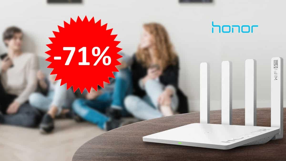 Honor Router 3 WiFi 6 Plus barato. Ofertas en routers, routers baratos,chollo