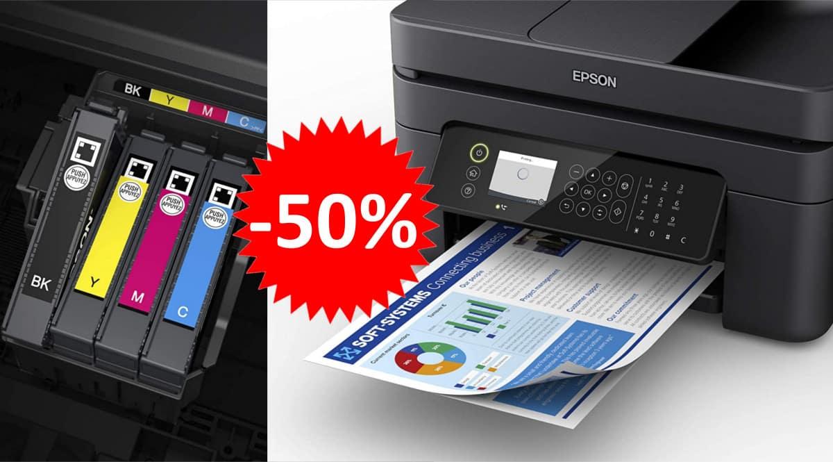 Impresora multifunción Epson WF-2850 barata. Ofertas en impresoras, impresoras baratas, chollo