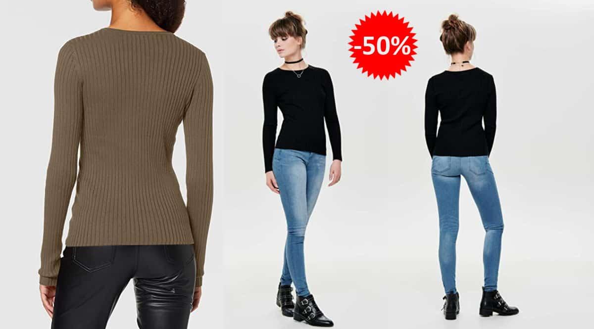 Jersey para mujer Only Onlnatalia barato. Ofertas en ropa de marca, ropa de marca barata, chollo