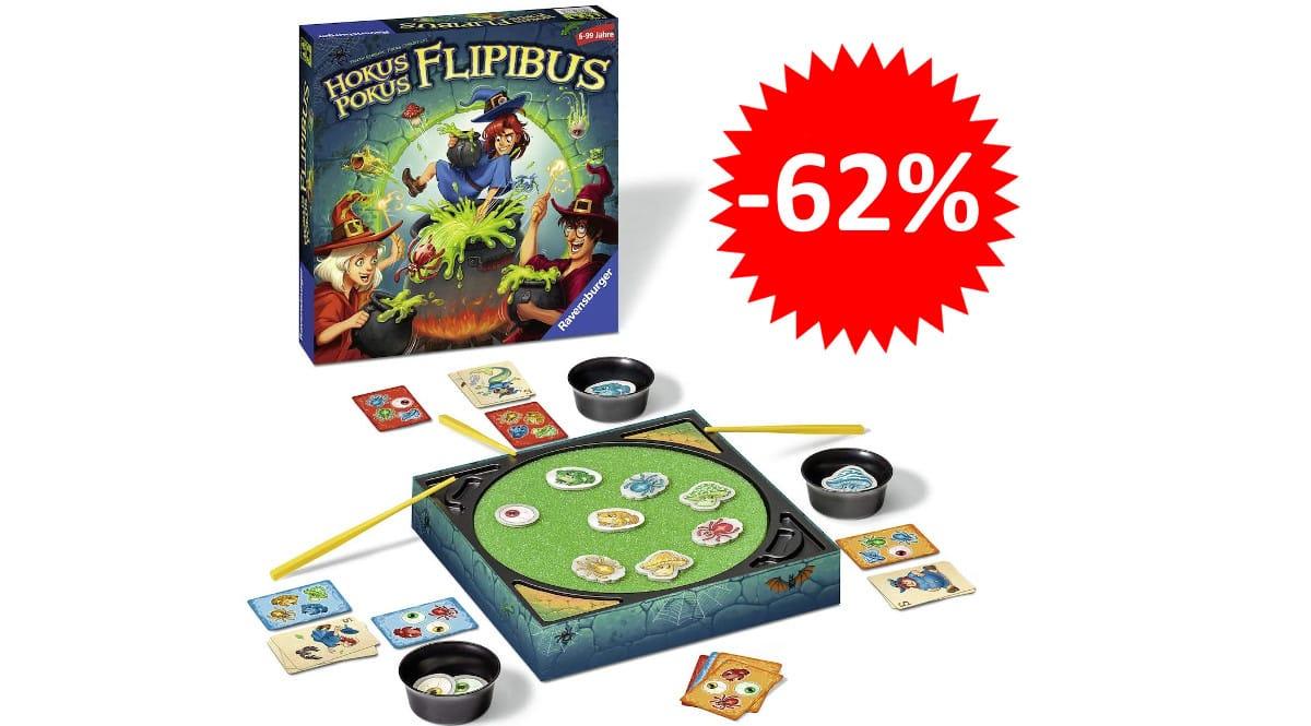¡¡Chollo!! Juego de mesa Hokus Pokus sólo 9.39 euros. 62% de descuento.