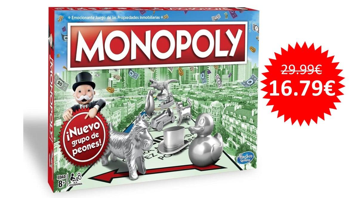 ¡¡Chollo!! Juego de mesa Monopoly edición Madrid sólo 16.79 euros.