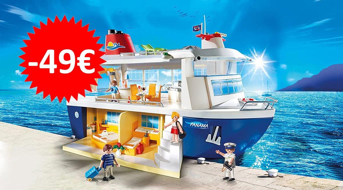 Juguete Playmobil Crucero barato. Ofertas en juguetes,juguetes baratos, chollo