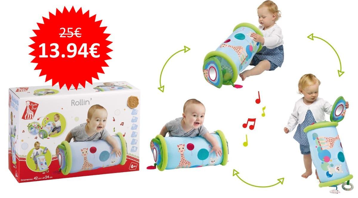 ¡Precio mínimo histórico! Juguete estimulante para bebé Sophie la girafe de Rollin' sólo 13.94 euros.