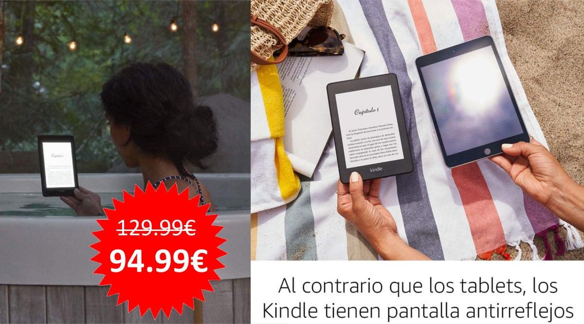 ¡Oferta Prime Day! Kindle Paperwhite sólo 94.99 euros. Mínimo histórico.