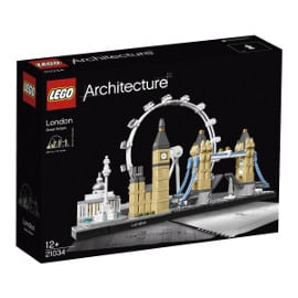 ¡Precio mínimo histórico! LEGO Architecture Londres sólo 27.93 euros.
