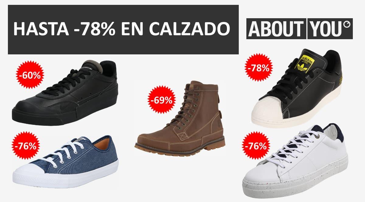 Las mejores ofertas en calzado de About You, calzado de marca barato, ofertas en zapatillas chollo