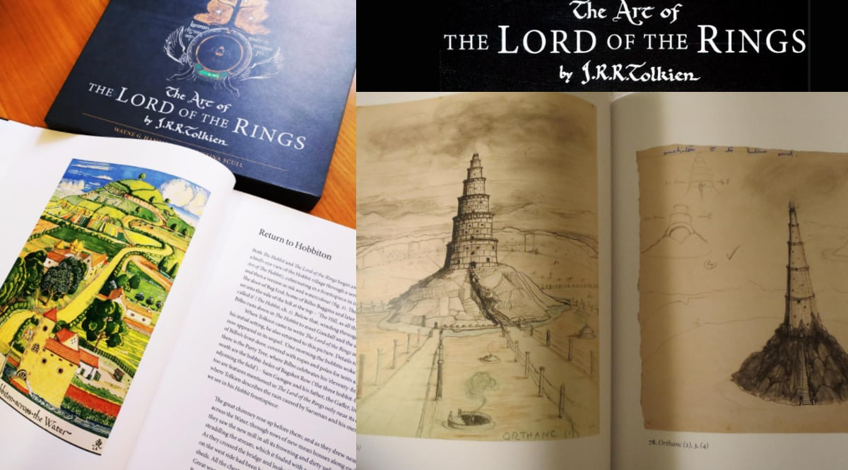 Libro The Art Of Lord Of The Rings 60th Anniversary Edition barato, libros baratos, ofertas en libros chollo