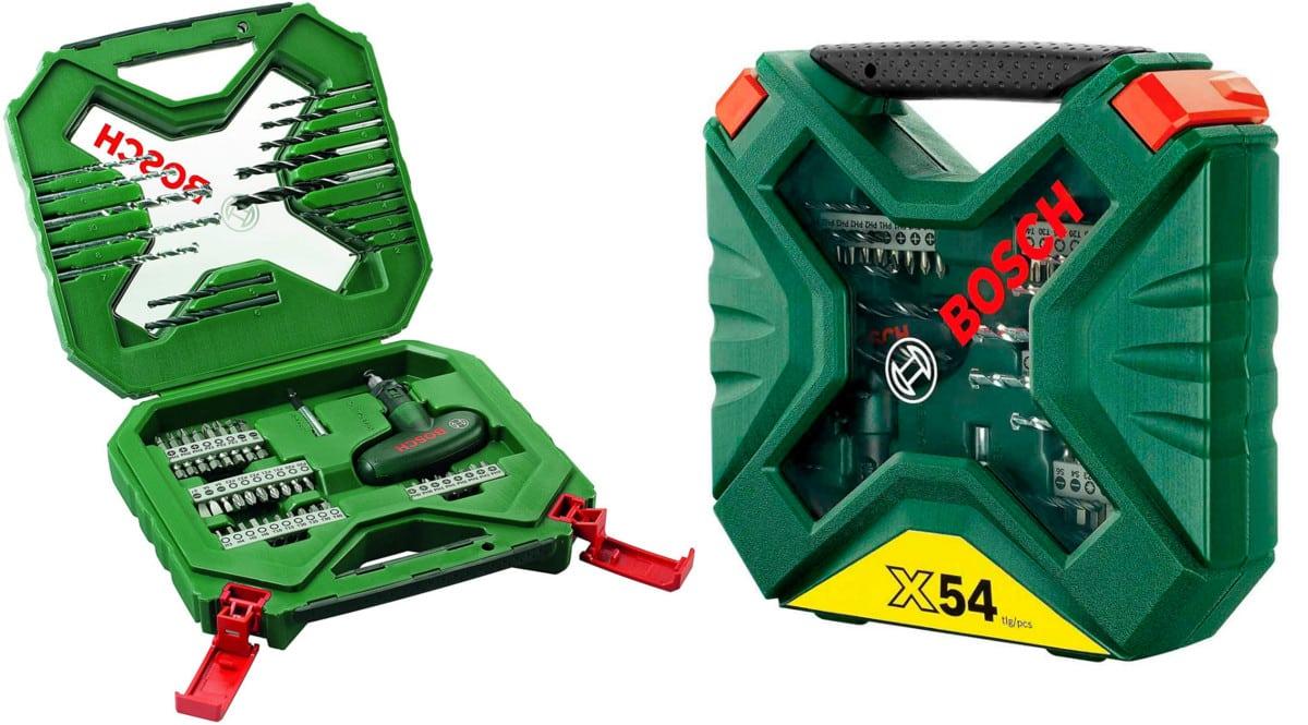 Maletín Bosch X-Line Classic 54 piezas baratas. Ofertas en herramientas, herramientas baratas, chollo