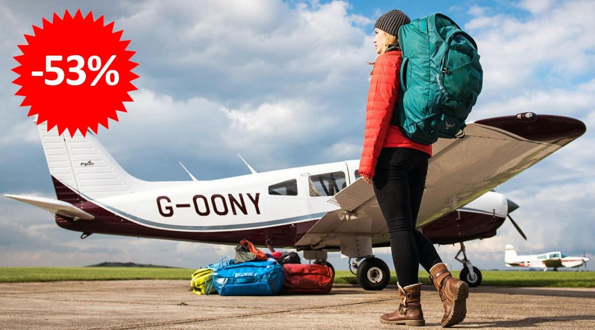 Mochila Osprey Fairview 40 barata, ofertas en mochilas, mochilas baratas, chollo