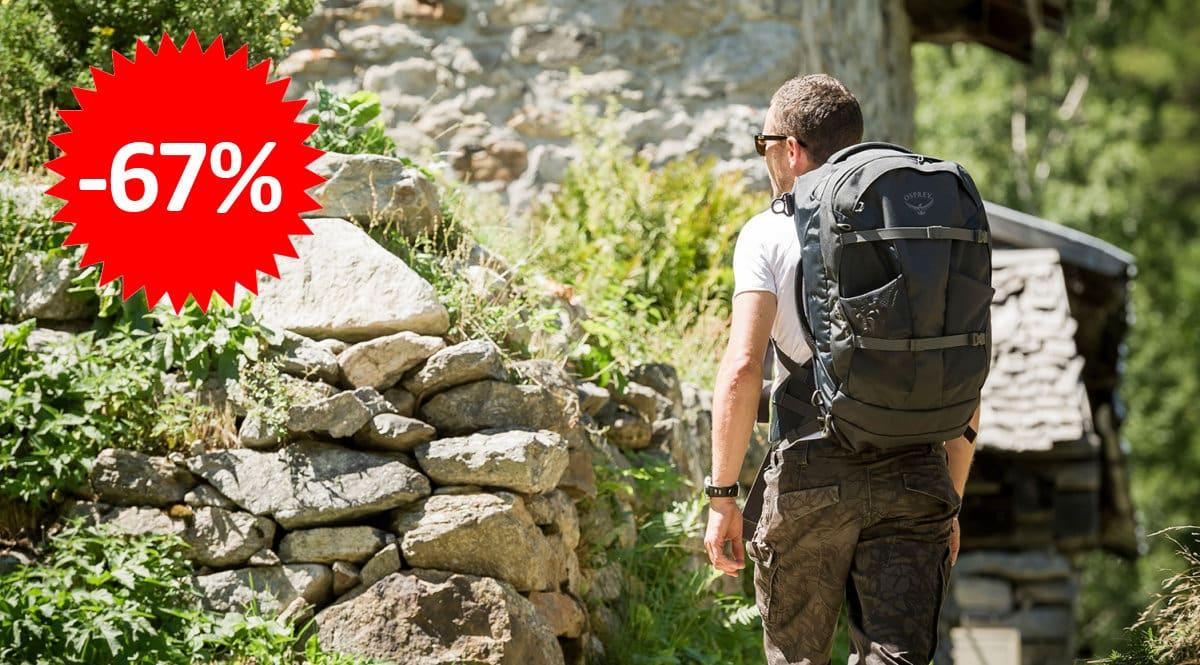 Mochila de viaje Osprey Farpoint 70 barata, ofertas en mochilas, mochilas baratas, chollo