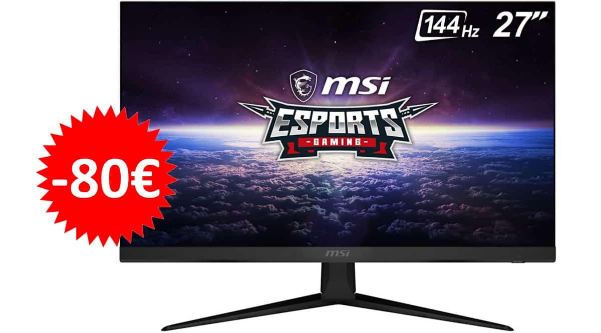 Monitor MSI Optix G271 barato. Ofertas en monitores, monitores baratos, chollo