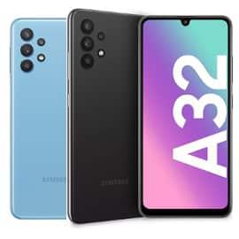¡Código descuento! Móvil Samsung Galaxy A32 4/128GB sólo 174 euros. Ahórrate 65 euros. En negro y en azul.