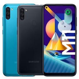 ¡Precio mínimo histórico! Móvil Samsung Galaxy M11 de 6.4″ y 3GB/32GB sólo 99 euros. Te ahorras 80 euros. En negro y en azul.