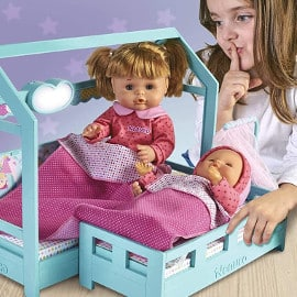¡Precio mínimo histórico! Muñecas Nenuco Hermanitas a la Cama sólo 39 euros.