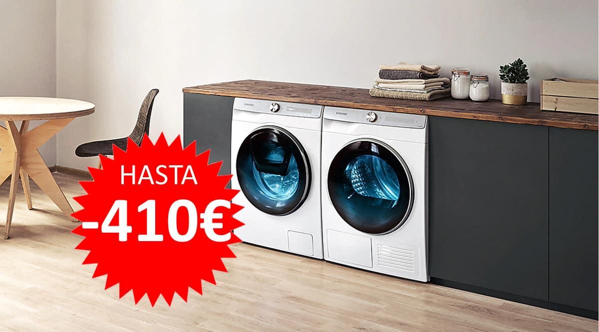 Ofertas en lavadoras y secadoras Samsung. Ofertas en electrodomésticos, electrodomésticos baratos,chollo