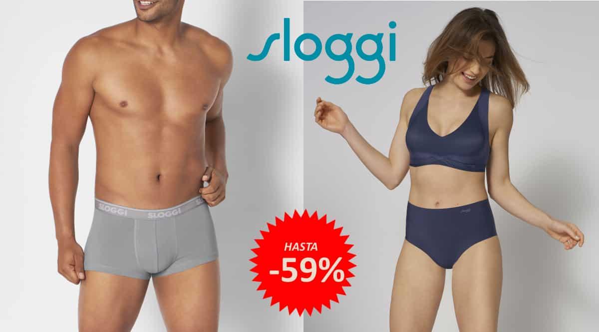 Ofertas en ropa interior Sloggi para hombre y mujer, ropa interior de marca barata, ofertas en ropa, chollo