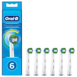 Pack 6 recambios Oral-B Precision Clean baratos. Ofertas en supermercado