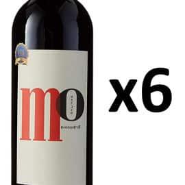 Pack de 6 botellas de vino Mo Salinas barato. Ofertas en vino, vino barato