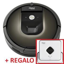 Pack iRobot Roomba 980 con iRobot Braava 390T barato. Ofertas en Roomba, Roomba barata