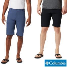 Pantalón corto de senderismo Columbia Triple Canyon barato, pantalones de senderismo de marca baratos, ofertas ropa deporte