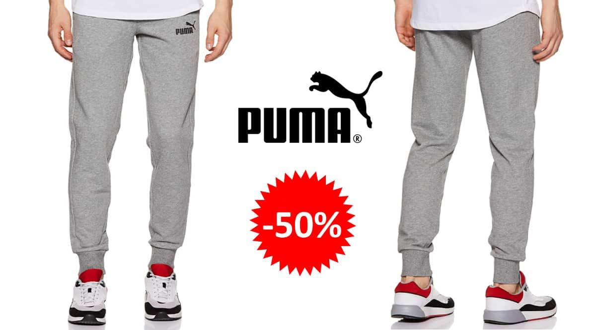 Pantalón de chándal Puma Essentials barato, ropa de marca barata, ofertas en pantalones chollo