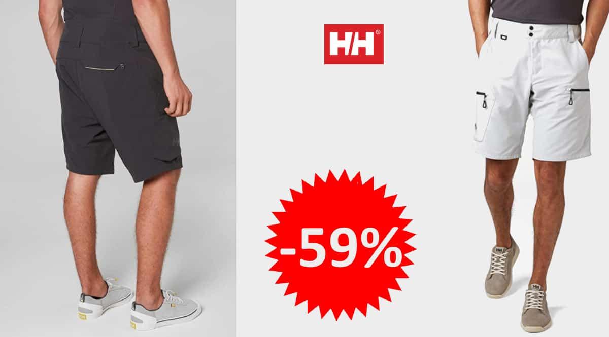 Pantalones cortos Helly Hansen Crewline Cargo baratos, pantalones de marca baratos, ofertas en ropa, chollo