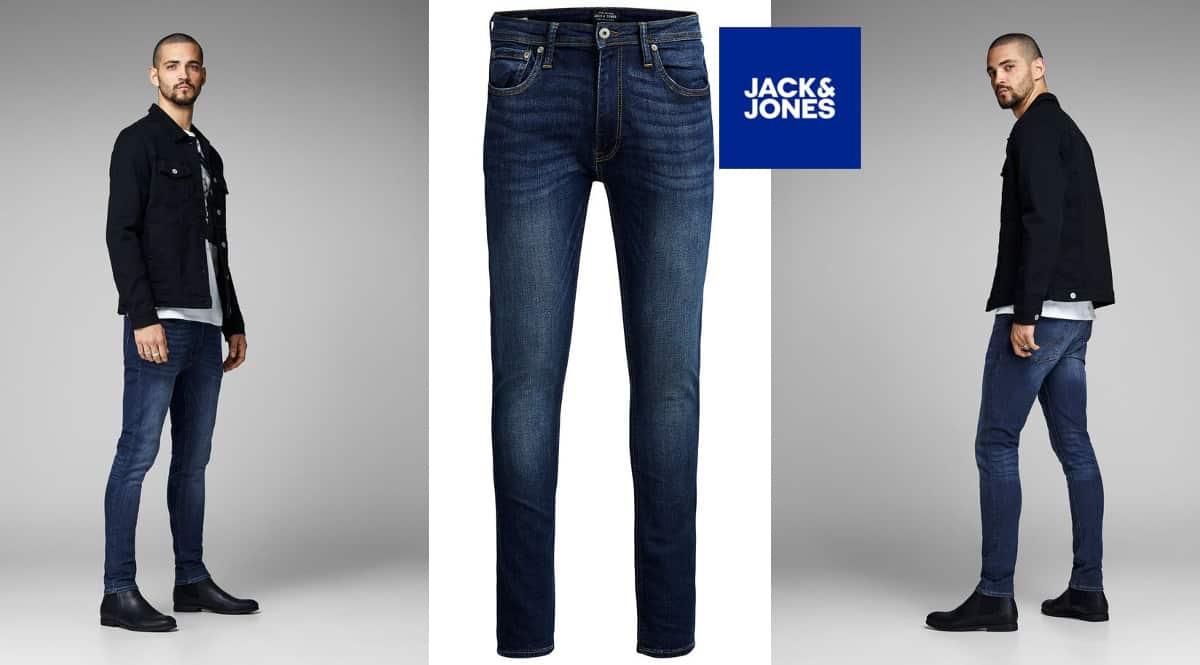Pantalones vaqueros Jack & Jones Liam AM 014 baratos, vaqueros de marca baratos, ofertas en ropa, chollo