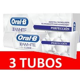 Pasta de dientes Oral-B 3DWhite Luxe Perfección barata, pasta de dientes de marca barata, ofertas supermercado