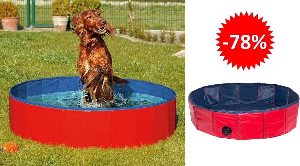 Piscina para perros Karlie Flamingo barata, productos para mascotas baratos, ofertas para perros chollo