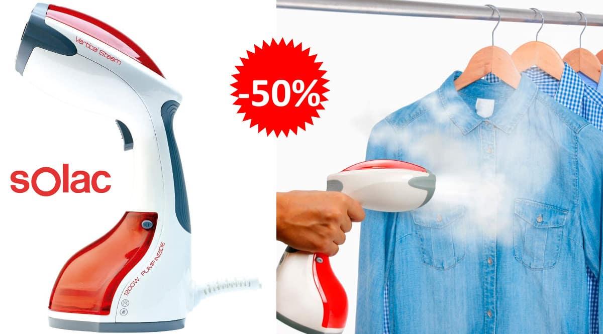 Plancha vertical Solac PC1500 Niagara barata, planchas verticales de vapor de marca baratas, ofertas hogar, chollo