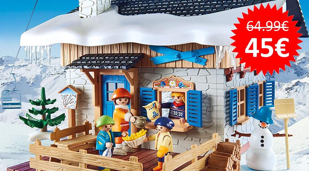 ¡¡Chollo!! Playmobil Family Fun Cabaña de Esquí (9280) sólo 45 euros.