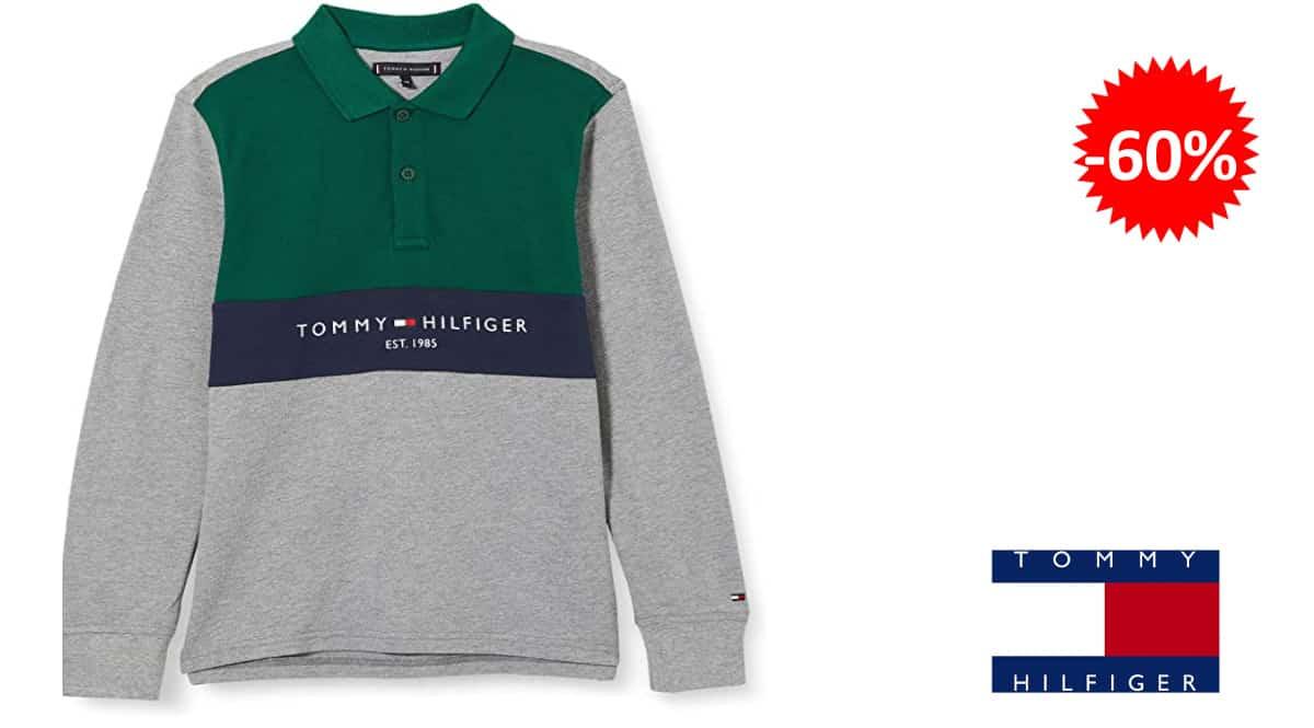 Polo para niño Tommy Hilfiger Bold Colorblock barato, ropa de marca barata para niño, ofertas en ropa, chollo