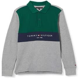 Polo para niño Tommy Hilfiger Bold Colorblock barato, ropa de marca barata para niño, ofertas en ropa
