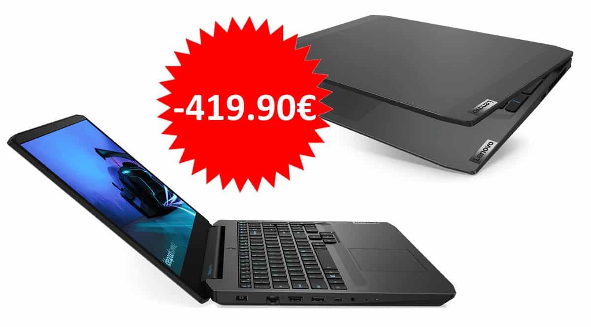 Portátil Lenovo Ideapad Gaming 3i 15 barato.Ofertas en portátiles, portátiles baratos,chollo
